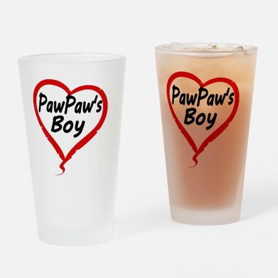 PAWPAWS BOY Drinking Glass