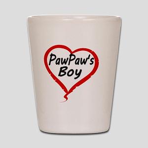 PAWPAWS BOY Shot Glass