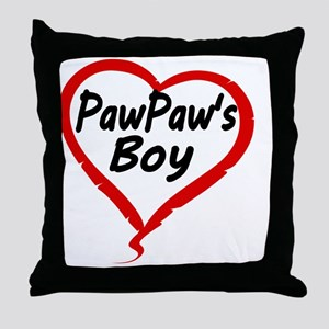 PAWPAWS BOY Throw Pillow