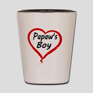 Papaws Boy Shot Glass