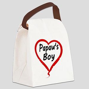 Papaws Boy Canvas Lunch Bag