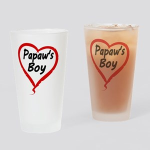 Papaws Boy Drinking Glass