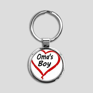 OMAS BOY Round Keychain