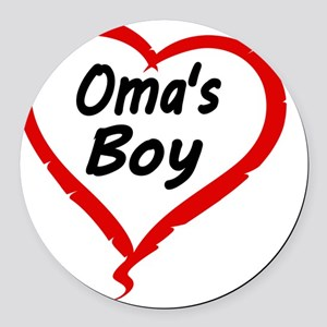 OMAS BOY Round Car Magnet