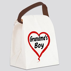 GRANDMAS  BOY Canvas Lunch Bag