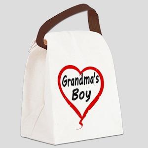GRANDMAS  BOY Canvas Lunch Bag