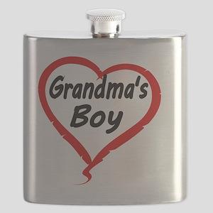 GRANDMAS  BOY Flask