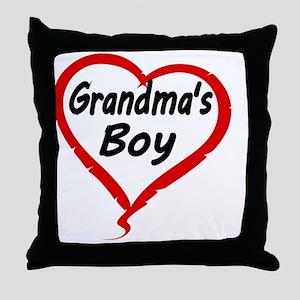 GRANDMAS  BOY Throw Pillow