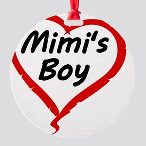MIMIS BOY Round Ornament