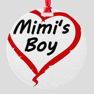MIMIS BOY Round Ornament