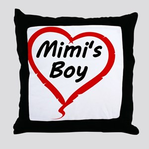 MIMIS BOY Throw Pillow