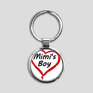 MIMIS BOY Round Keychain