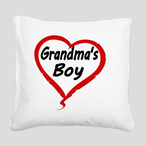 GRANDMAS  BOY Square Canvas Pillow
