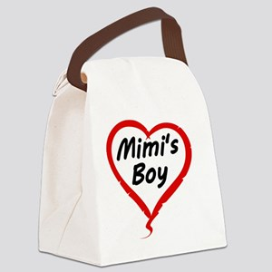 MIMIS BOY Canvas Lunch Bag