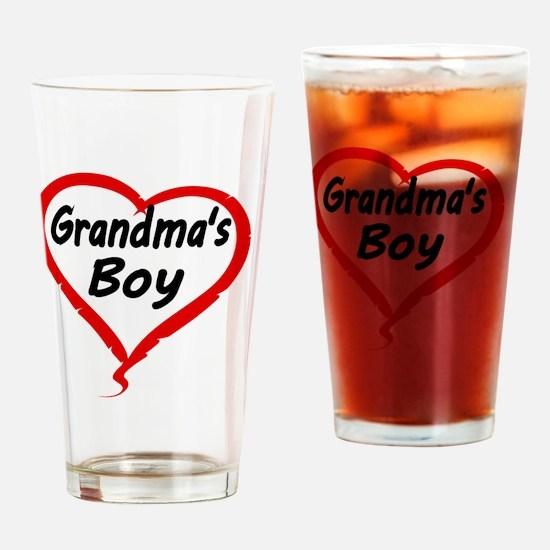 GRANDMAS  BOY Drinking Glass