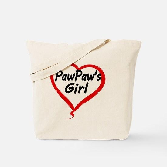 PAWPAWS  GIRL Tote Bag