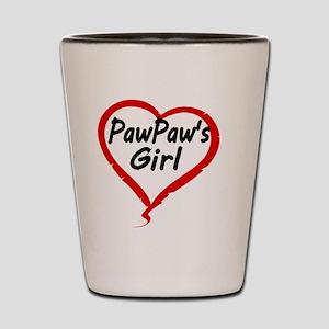 PAWPAWS  GIRL Shot Glass
