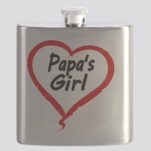 PAPAS   GIRL Flask