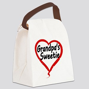 GRANDPAS  SWEETIE Canvas Lunch Bag