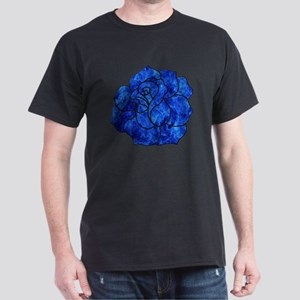 Blue Rose Dark T-Shirt