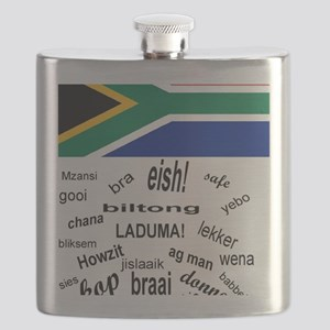 South African Slang Flask