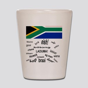 South African Slang Shot Glass
