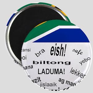 South African Slang Magnet