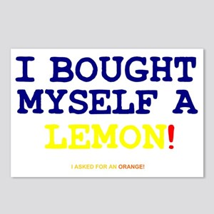 I BOUGHT MYSELF A LEMON! Postcards (Package of 8)