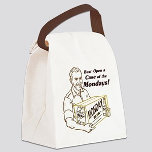 Case of the Mondays Canvas Lunch Bag