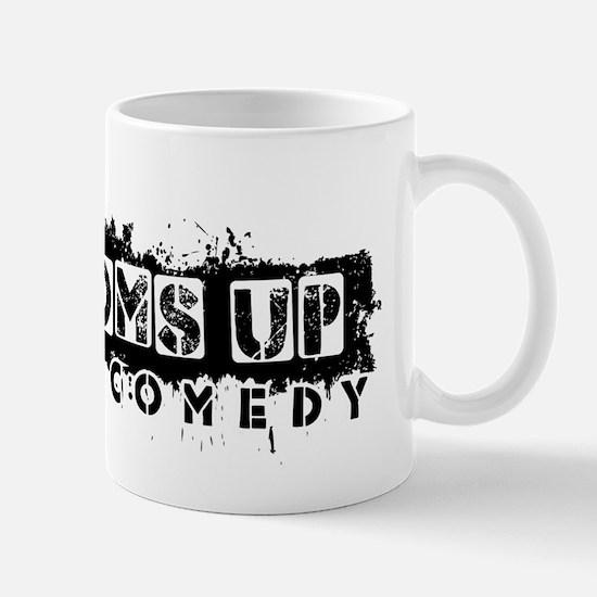 Bottoms Up Logo Mug