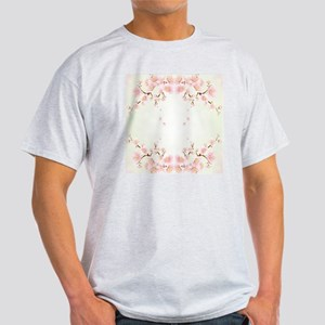 Cherry Blossom OIn Pink And White Light T-Shirt