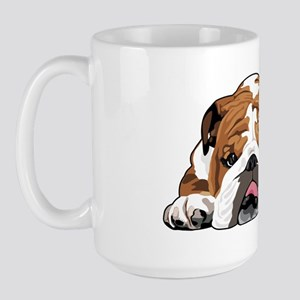 Teddy the English Bulldog Large Mug