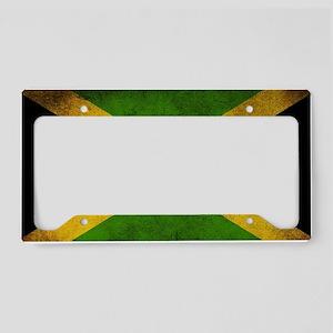Jamaica Flag License Plate Holder