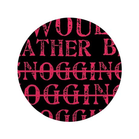 "Rather be blogging 3.5"" Button"