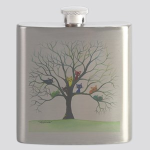 Eau Claire Stray Cats Flask