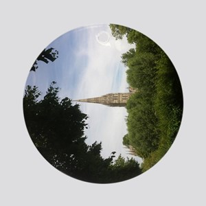 Salisbury cathedral  Round Ornament
