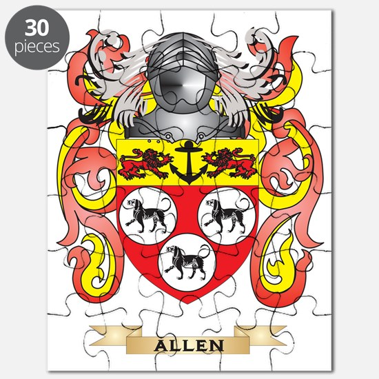 Allen Coat of Arms Puzzle