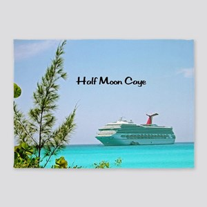 Half Moon Caye 5'x7'Area Rug