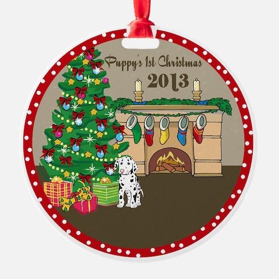 2013 Dalmatians 1St Christmas Ornament