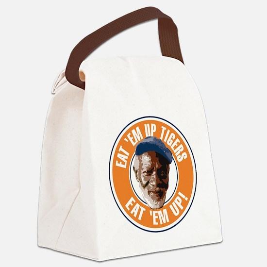 Eat Em Up Tigers Canvas Lunch Bag