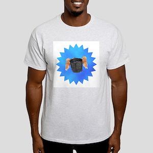 Blue Flying Bucket Light T-Shirt