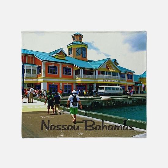 Nassau Bahamas Throw Blanket