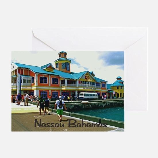 Nassau Bahamas Greeting Card