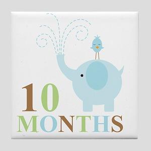 10 months Tile Coaster