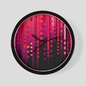showercurtain728 Wall Clock