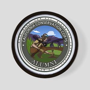CCC Alumni Logo Planting Wall Clock