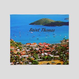 Saint Thomas Throw Blanket