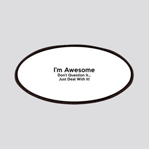 I'm Awesome Patches