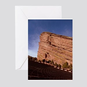Red Rocks Greeting Cards (Pk of 10)
