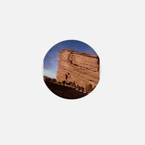 Red Rocks Mini Button